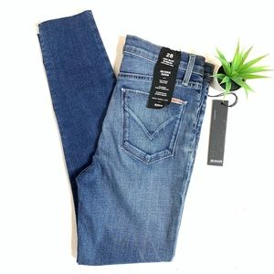 Barbara High-Rise Super Skinny Ankle Jeans